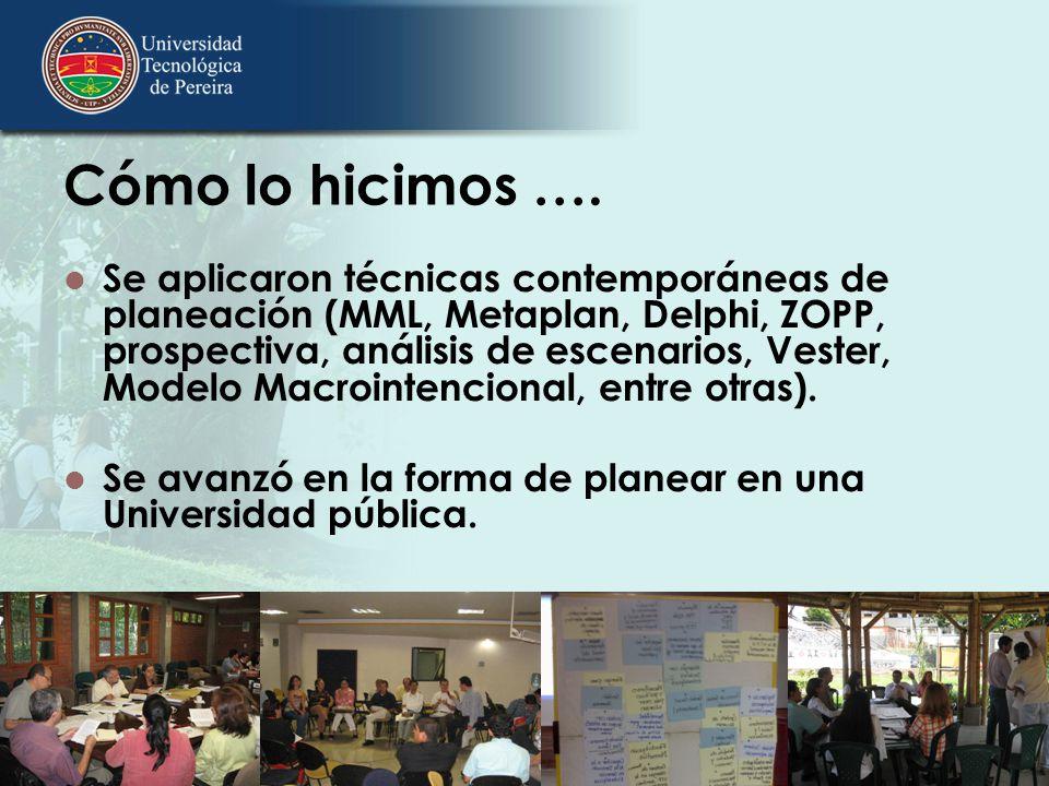 Qué contiene el Plan Las orientaciones y apuestas de la Universidad por los próximos 11 años.