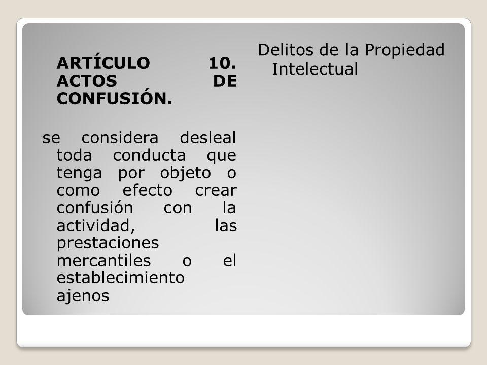 ARTÍCULO 11.ACTOS DE ENGAÑO.