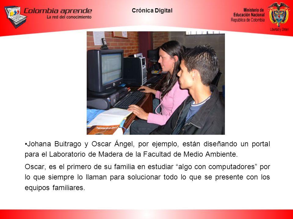 Crónica Digital Andrea Sánchez y Carlos Cruz diseñaron un simulador para explicar la destilación simple.