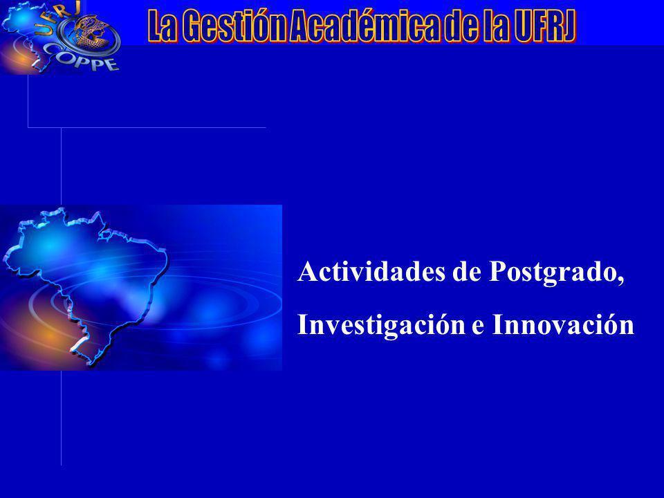 VII Conferência da ANPEI: Inovação, Competitividade e Inserção Internacionalização Actividades de Postgrado, Investigación e Innovación