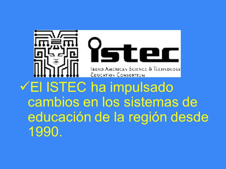 El ISTEC ha impulsado cambios en los sistemas de educación de la región desde 1990.