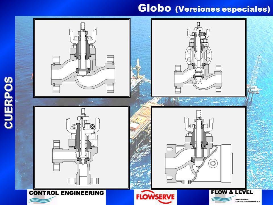CUERPOS Globo (Versiones especiales)