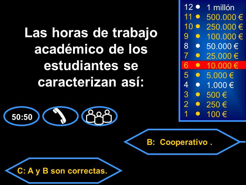 A: Directo y Autónomo. C: A y B son correctas. D: Ninguna de las anteriores.