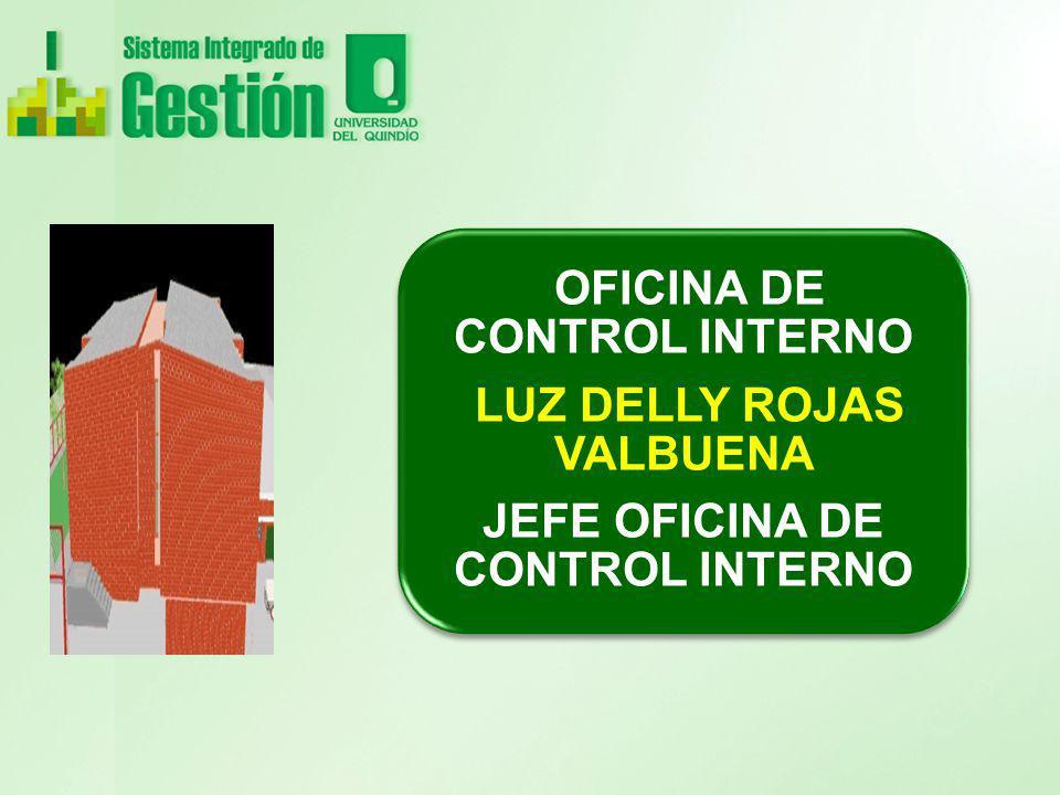 OFICINA DE CONTROL INTERNO LUZ DELLY ROJAS VALBUENA JEFE OFICINA DE CONTROL INTERNO