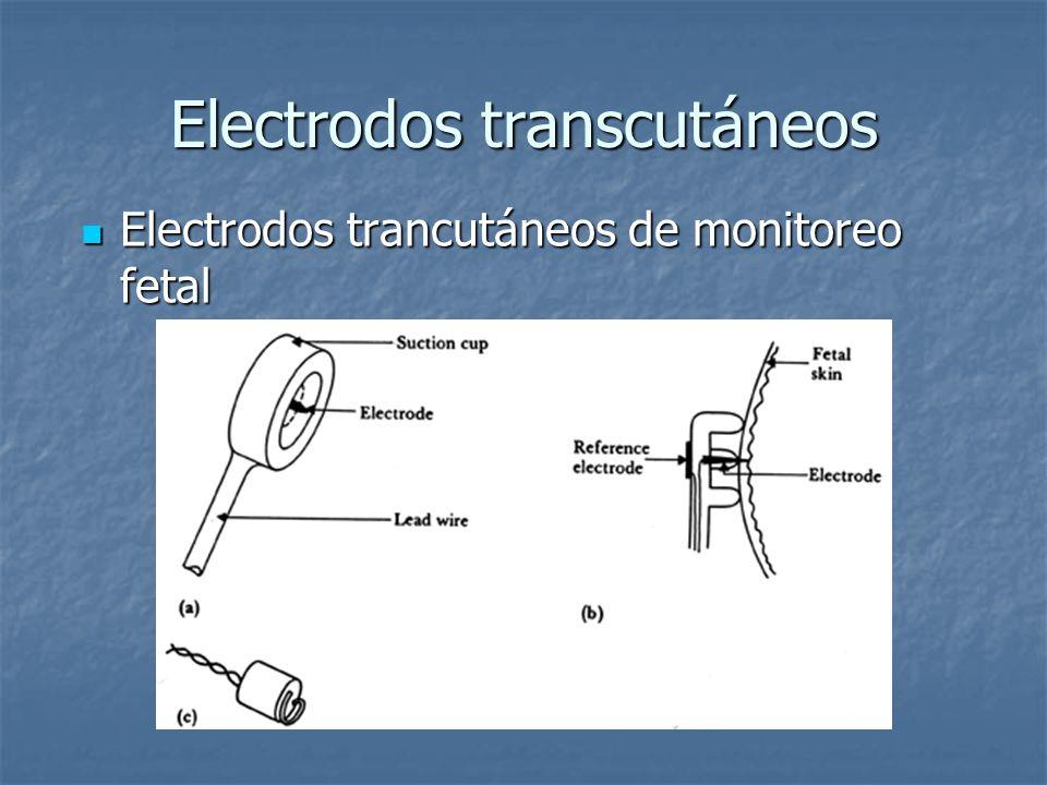Electrodos transcutáneos Electrodos trancutáneos de monitoreo fetal Electrodos trancutáneos de monitoreo fetal