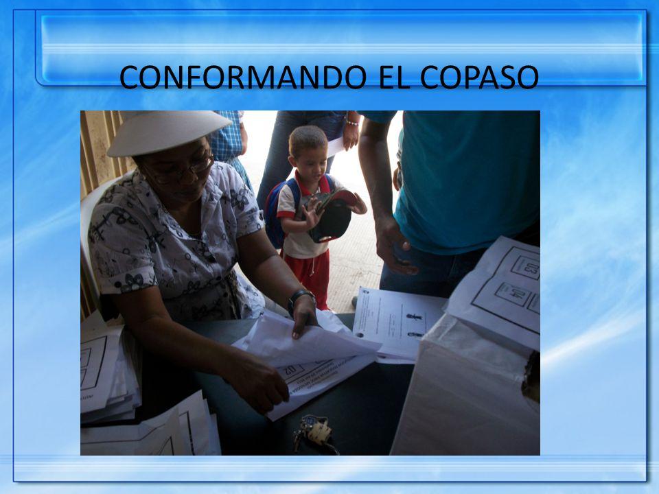 CONFORMANDO EL COPASO