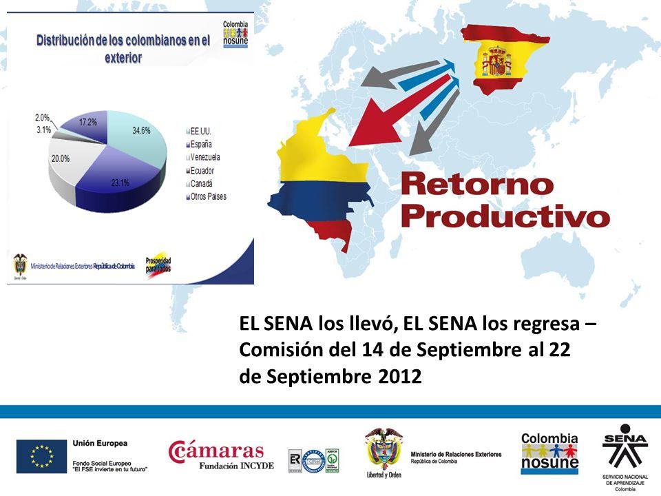 Estadísticas de la Migración colombiana en España Ministerio de Relaciones Exteriores República de Colombia El Censo de 2005 del DANE estableció que hay 3,3 millones de colombianos en el exterior.