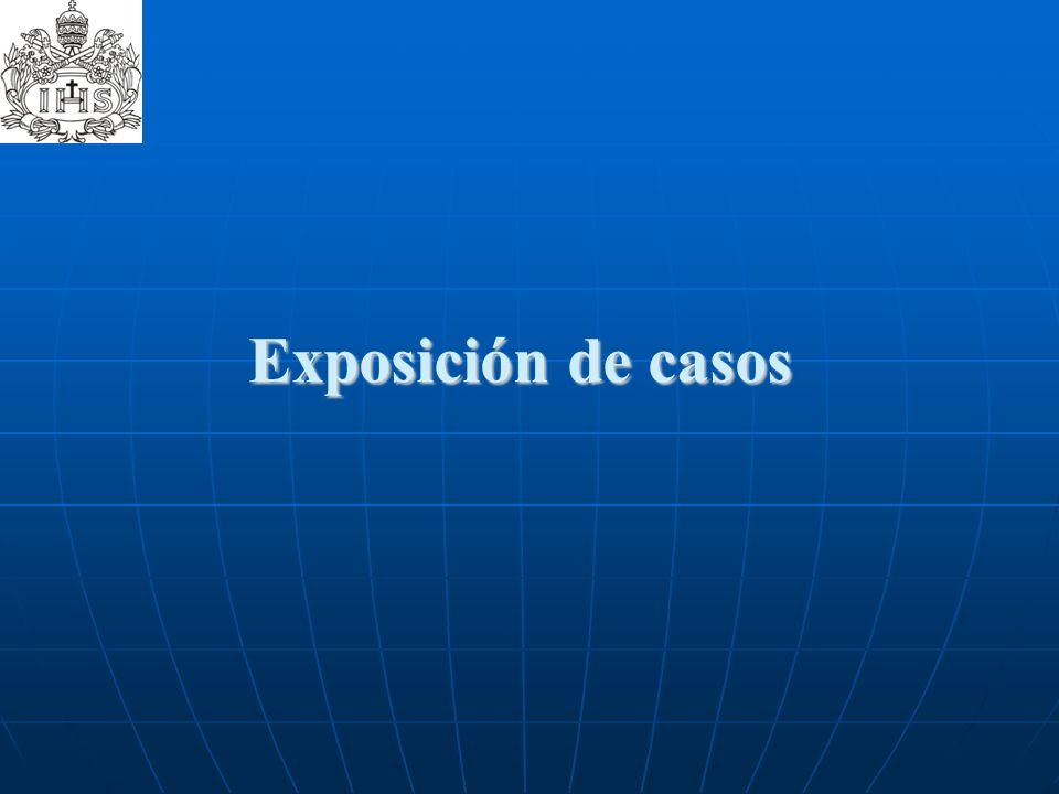 Exposición de casos
