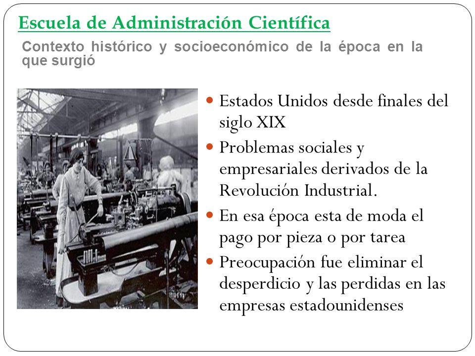 Empresas y sectores industriales donde empezó a ser utilizado Midvale Steel Co, 1878 (Empresa de fabricación de acero), inicia experiencia.