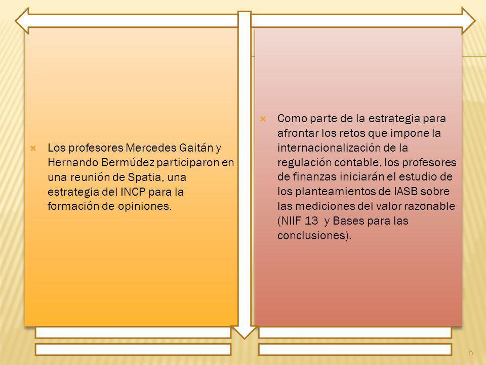 Los profesores Mercedes Gaitán y Hernando Bermúdez participaron en una reunión de Spatia, una estrategia del INCP para la formación de opiniones.
