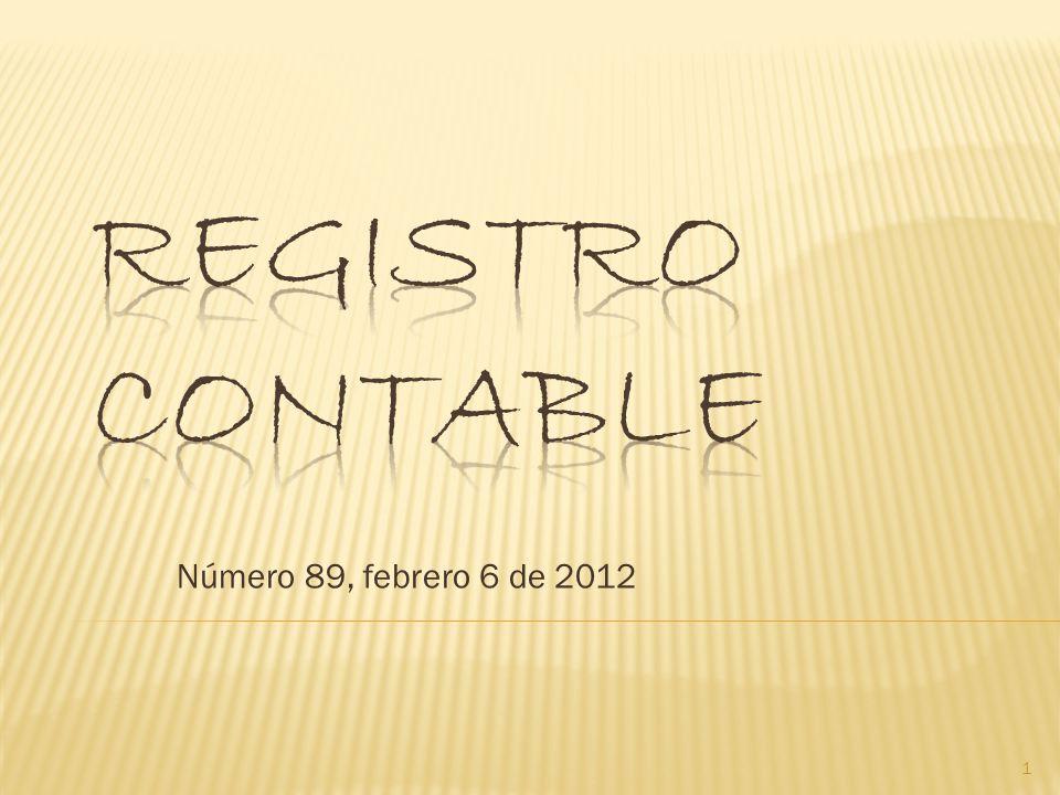 Número 89, febrero 6 de 2012 1