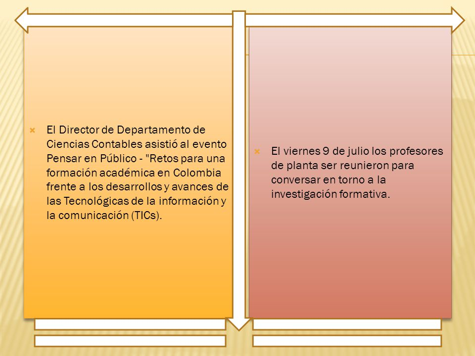 El Director de Departamento de Ciencias Contables asistió al evento Pensar en Público - Retos para una formación académica en Colombia frente a los desarrollos y avances de las Tecnológicas de la información y la comunicación (TICs).
