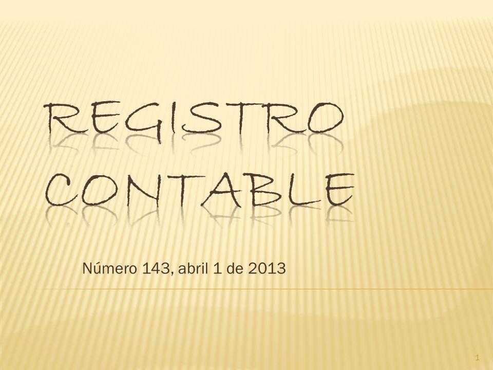 Número 143, abril 1 de 2013 1