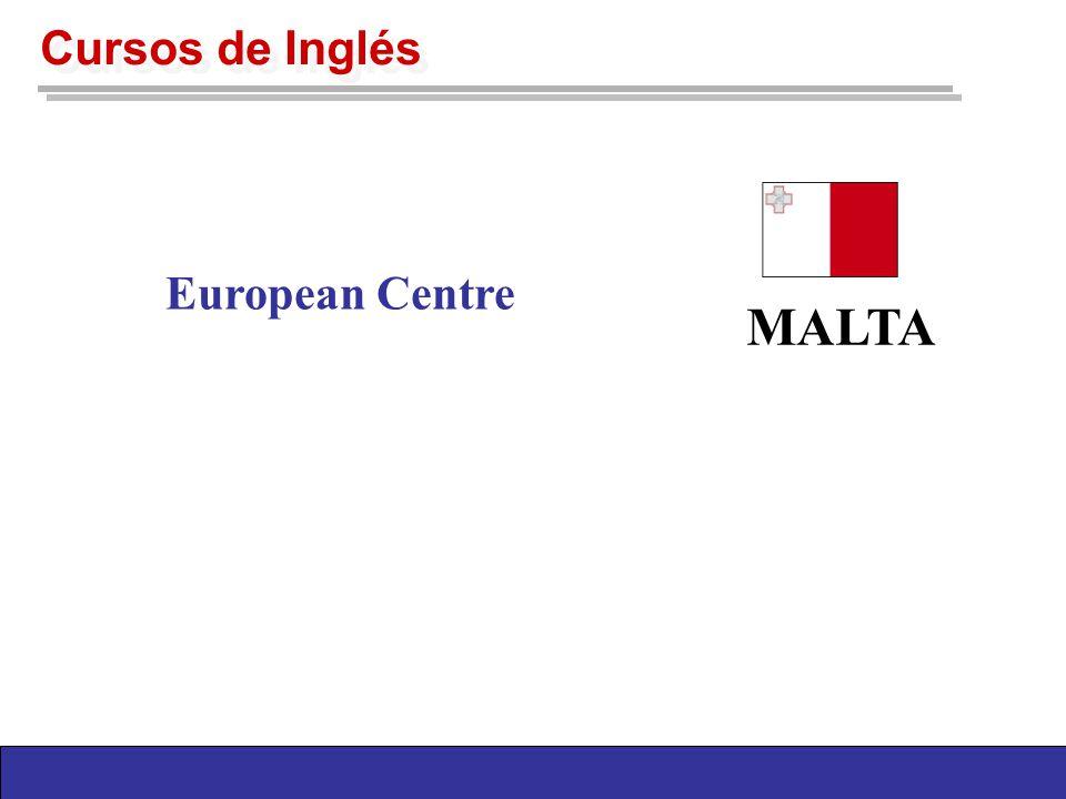 Cursos de Inglés MALTA European Centre
