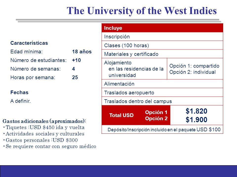 Características Edad mínima:18 años Número de estudiantes:+10 Número de semanas:4 Horas por semana:25 Fechas A definir.