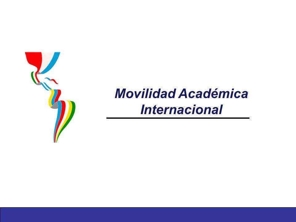 Movilidad Académica Internacional