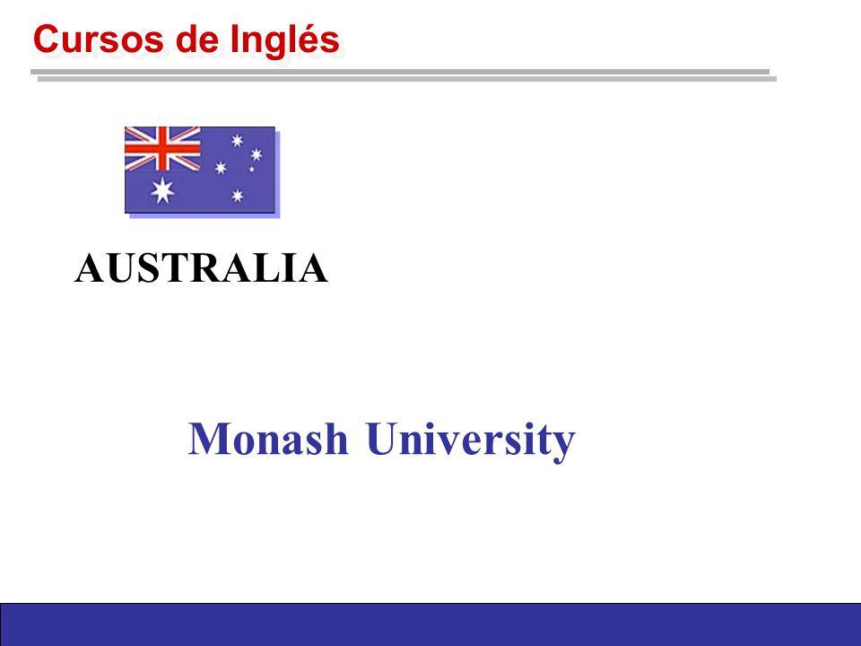 Monash University AUSTRALIA Cursos de Inglés