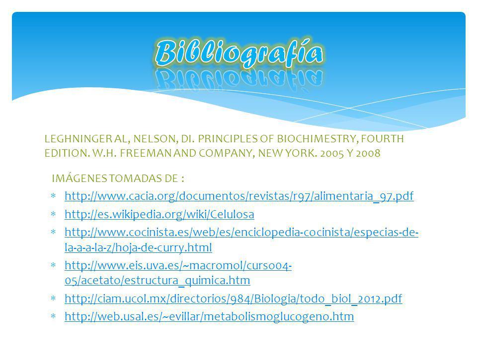 http://www.cacia.org/documentos/revistas/r97/alimentaria_97.pdf http://es.wikipedia.org/wiki/Celulosa http://www.cocinista.es/web/es/enciclopedia-coci