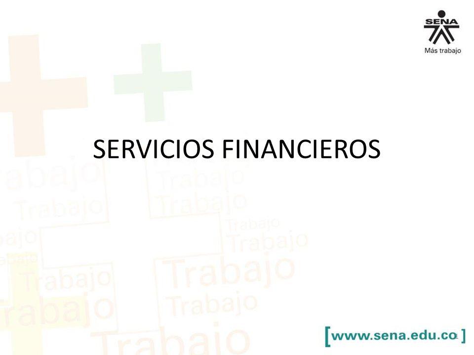 SERVICIOS FINANCIEROS 1