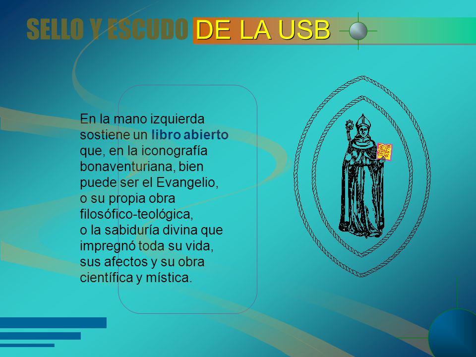 Al lado izquierdo de la imagen, a la altura de la cintura, aparece el capelo, sombrero de alas anchas, símbolo de la dignidad cardenalicia.