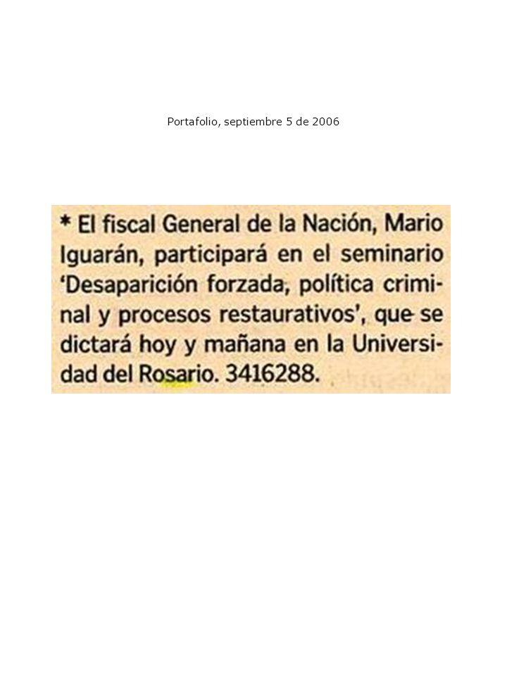 Portafolio, septiembre 5 de 2006