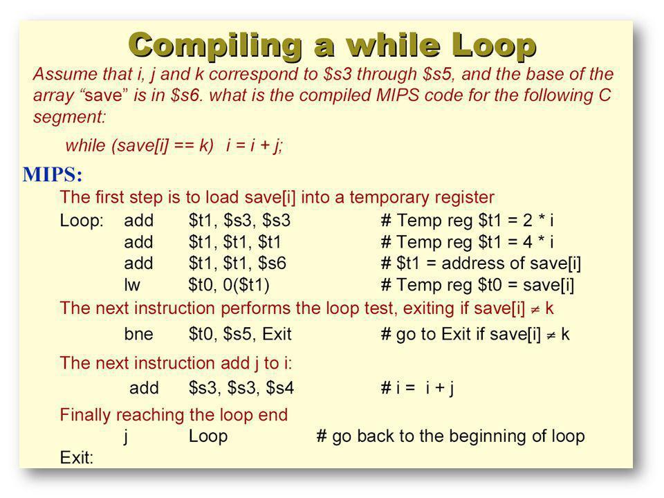 Una instrucción de carga (load) o de almacenamiento (store) tipo word usa únicamente una dirección de memoria.