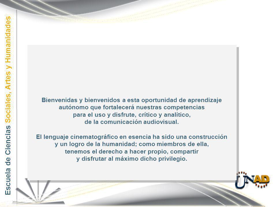 Bienvenidas y bienvenidos a esta oportunidad de aprendizaje autónomo que fortalecerá nuestras competencias para el uso y disfrute, crítico y analítico, de la comunicación audiovisual.