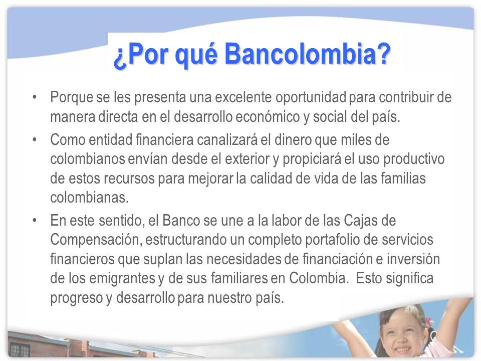 ¿Por qué Bancolombia.