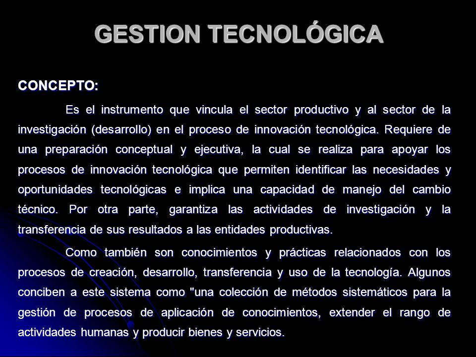 FUNDAMENTOS: De acuerdo con Zoltan Szabo, se podría pensar en la gestión tecnológica al nivel de un país.