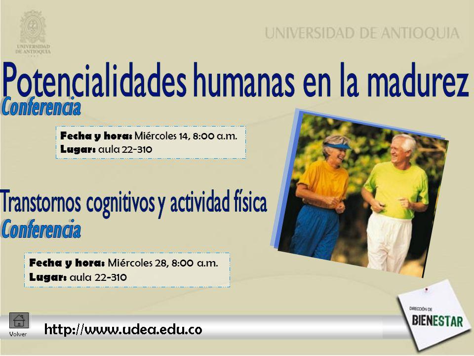 Sesión 1: viernes 16 2:00 p.m.Sesión 2 : viernes 23 2:00 p.m.