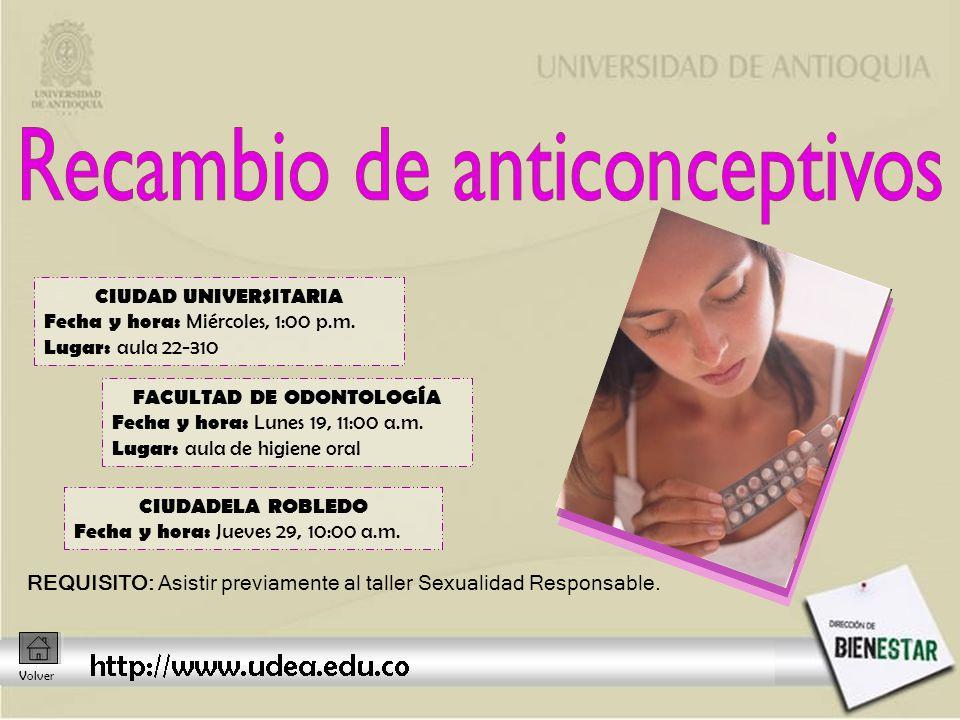 CIUDAD UNIVERSITARIA Fecha y hora: Miércoles, 1:00 p.m.