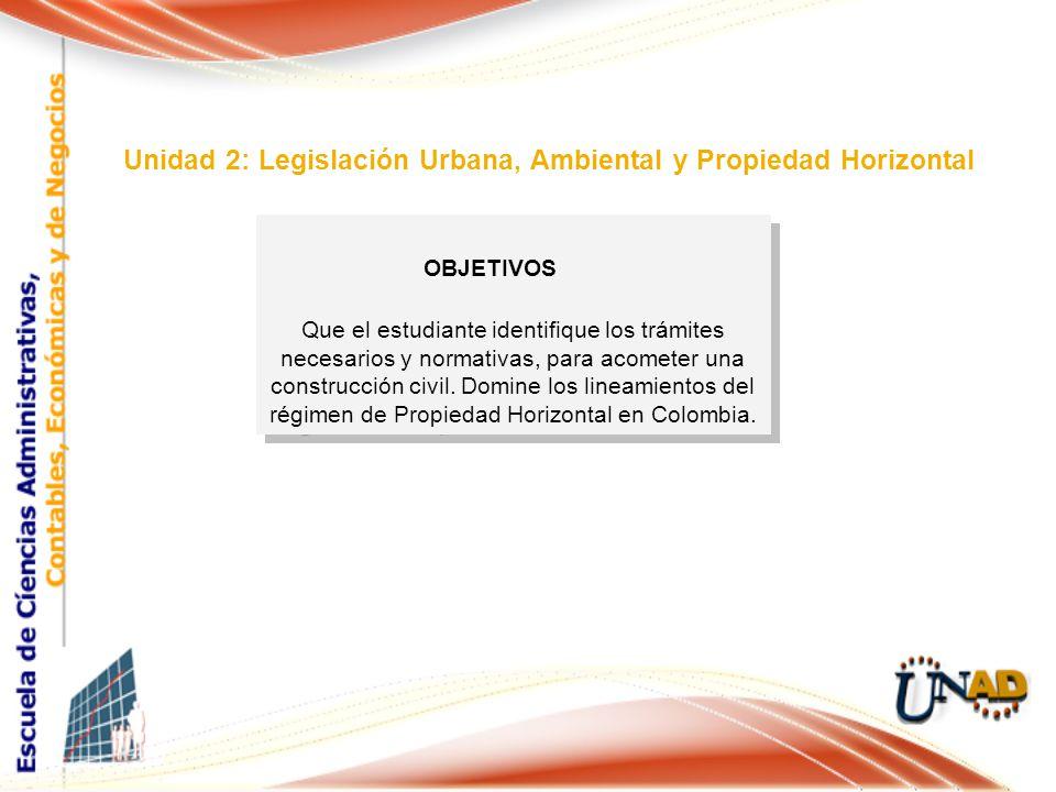 Que el estudiante identifique los trámites necesarios y normativas, para acometer una construcción civil.