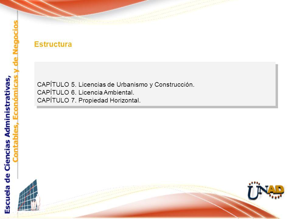 CAPÍTULO 5. Licencias de Urbanismo y Construcción.