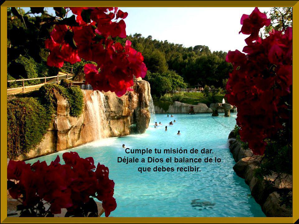 La vida se hace de regalo, sin seleccionar, ni preguntar, ni escoger.
