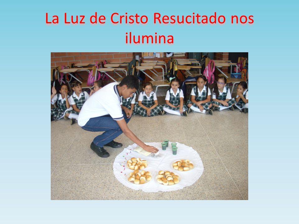 La Luz de Cristo Resucitado nos ilumina