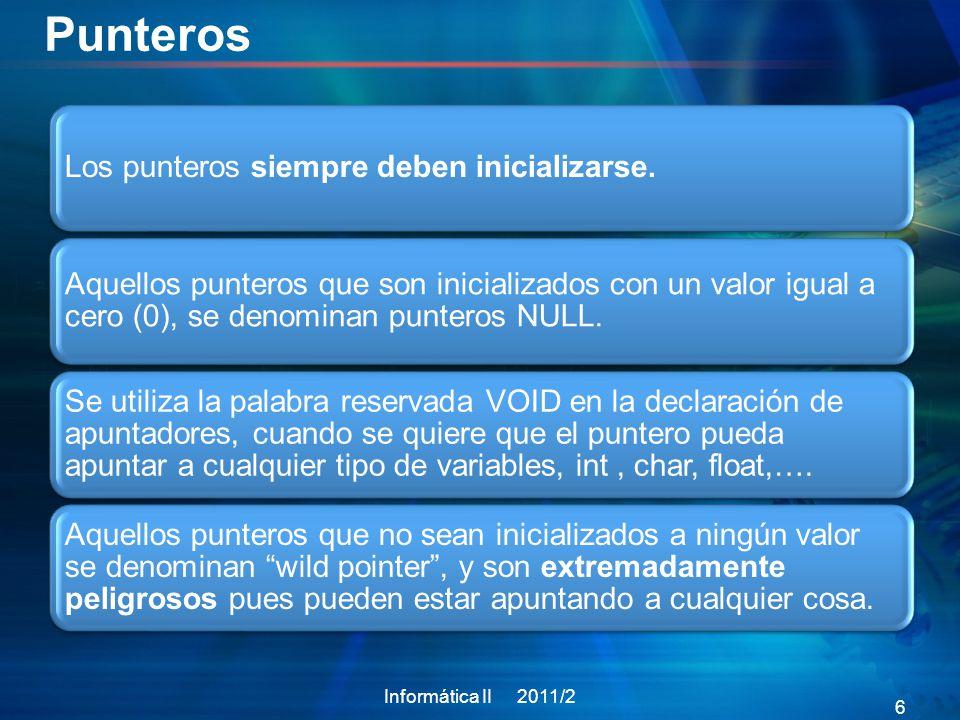 Informática II 2009/2 47