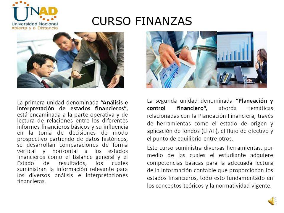 CURSO FINANZAS Director de curso Mi nombre es René Carlos Paredes Stave, Contador público de profesión, Especialista en Educación Superior a Distancia