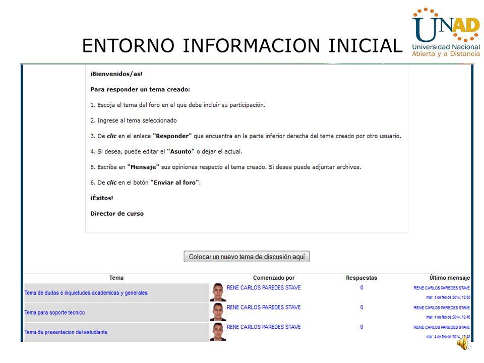 ENTORNO DE GESTION
