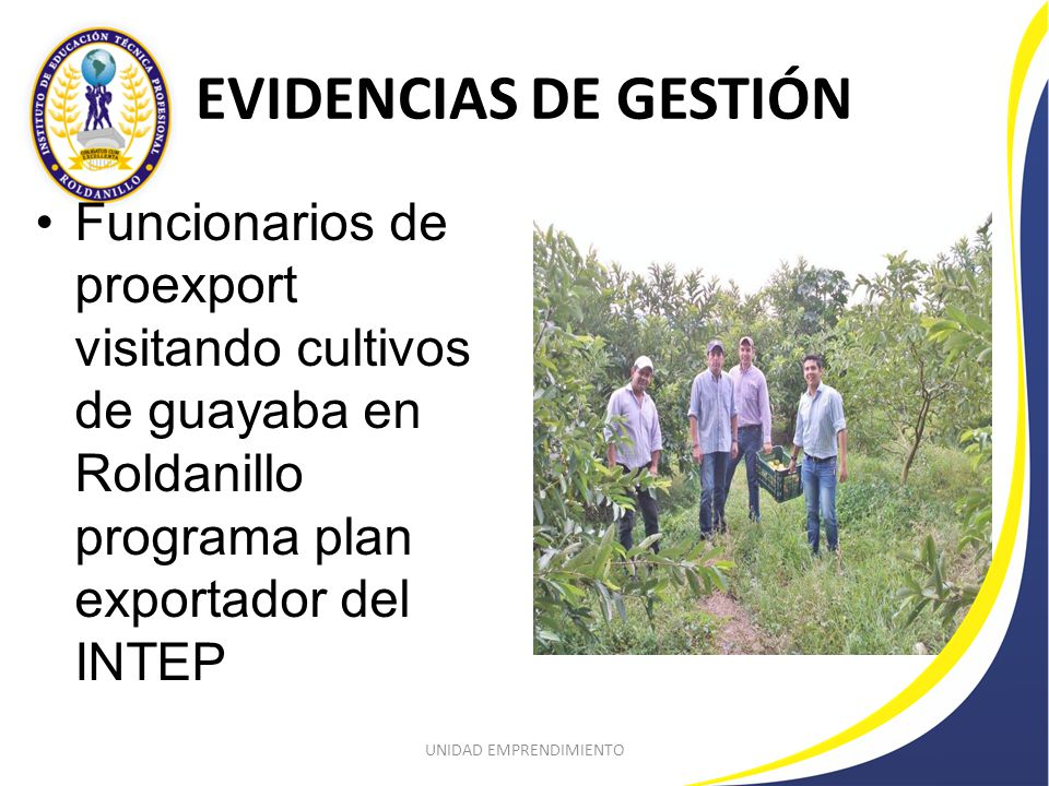PROYECTO PLAN EXPORTADOR Evento en Fenicia Río Frio con Ecocert, Proexport Colombia, productores de la región y produende que lidera el INTEP de Roldanillo.