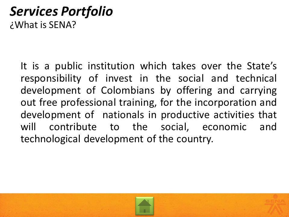 Rural Youth Entrepreneurs Services Portfolio