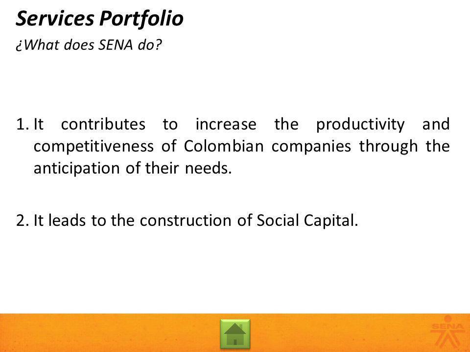 Entrepreneurship Fund Services Portfolio