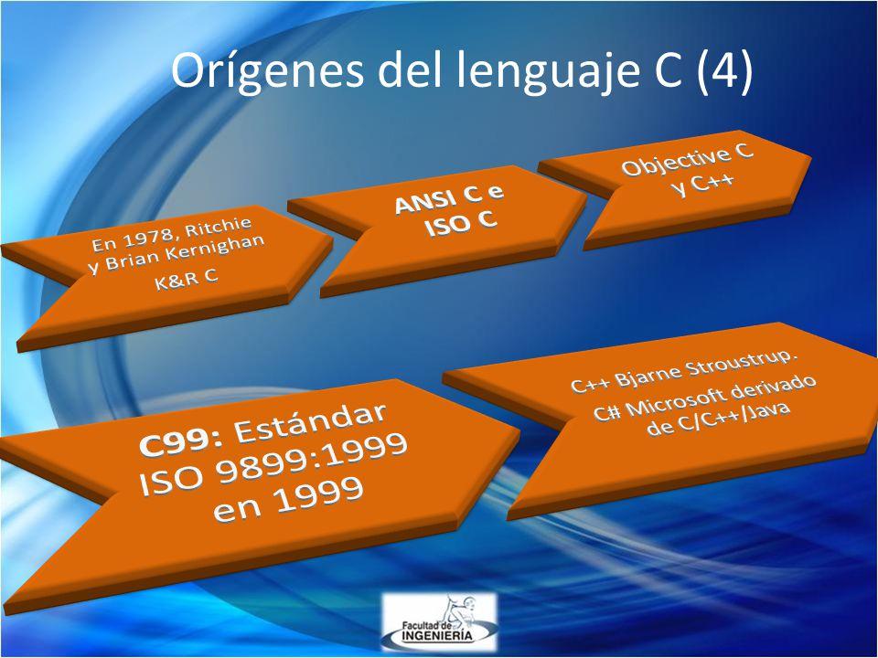 Orígenes del lenguaje C (4)
