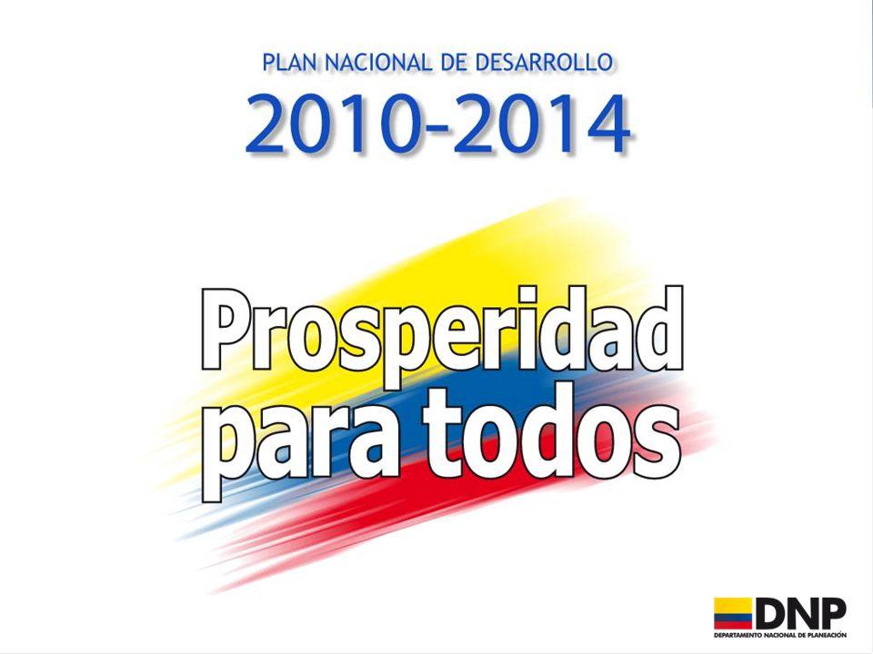 Fuente: DANE (2001-2010). Proyecciones DNP-MHCP (2011-2014) 3.570 3.870