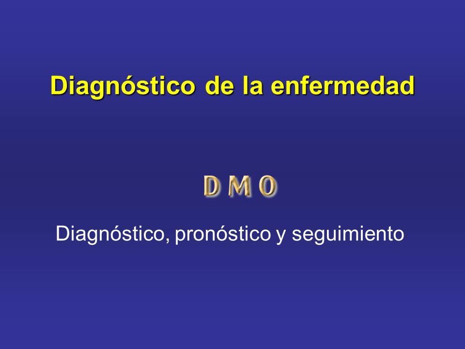 Diagnóstico de la enfermedad Diagnóstico, pronóstico y seguimiento