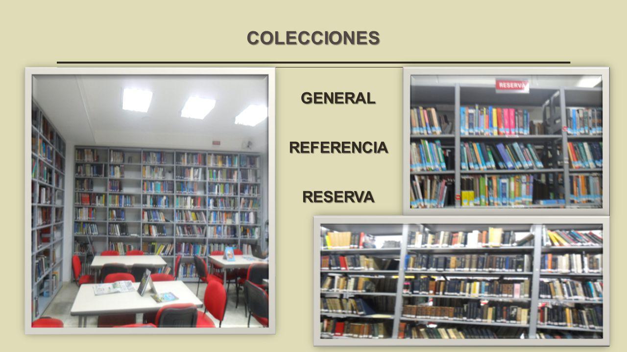COLECCIONES GENERALREFERENCIA RESERVA