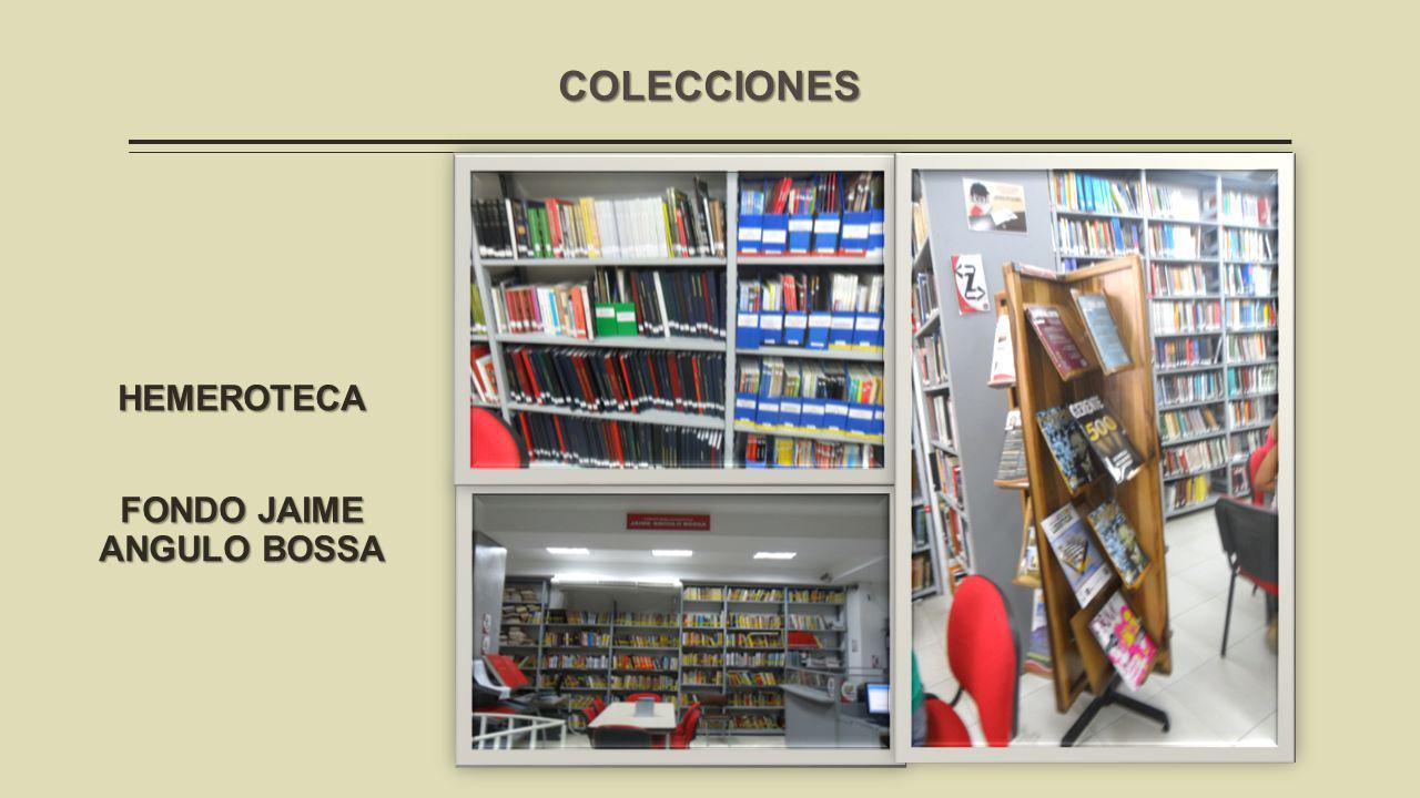 HEMEROTECA FONDO JAIME ANGULO BOSSA COLECCIONES