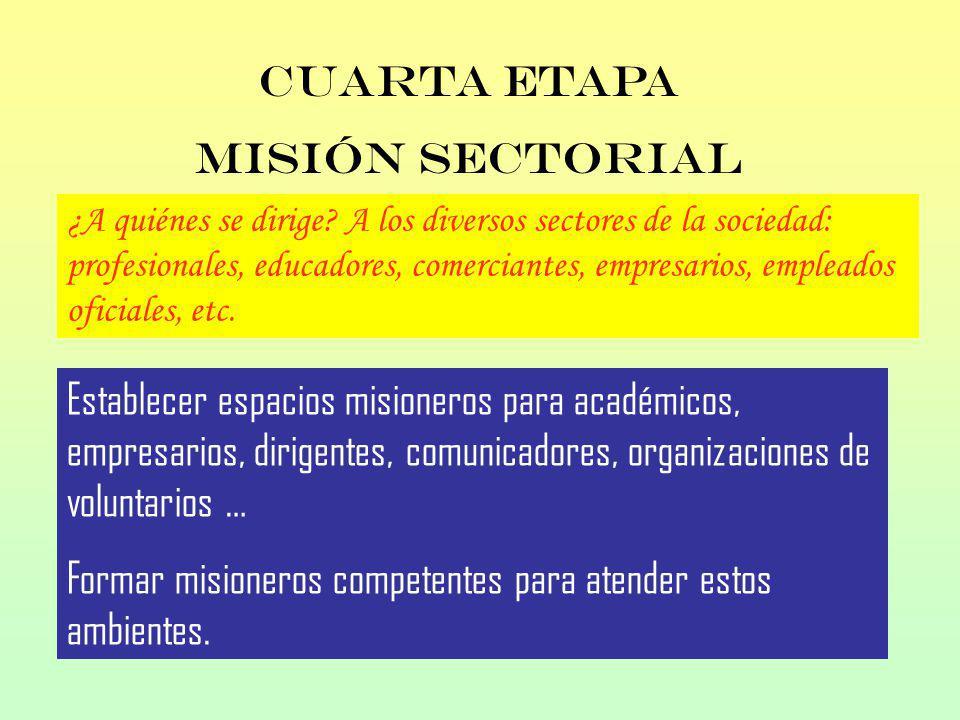 ¿A quiénes se dirige? A los diversos sectores de la sociedad: profesionales, educadores, comerciantes, empresarios, empleados oficiales, etc. Establec