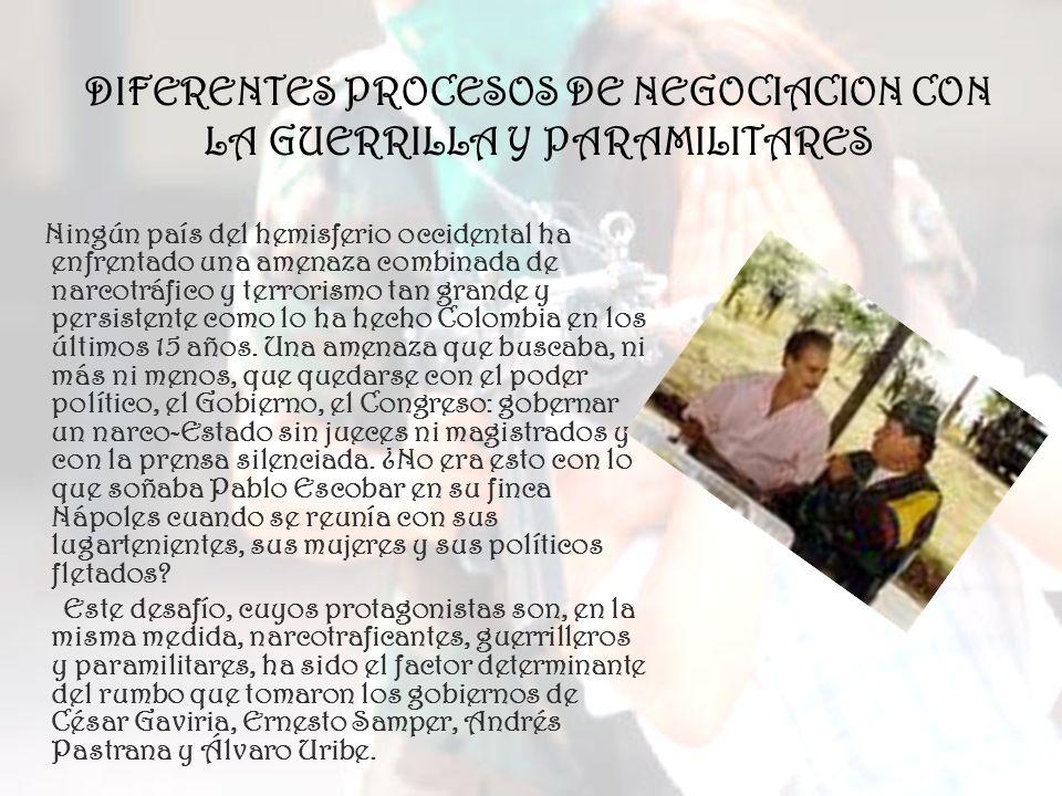 Crisis del Proceso El esquema del proceso que consistía en negociar en medio del conflicto, comenzó a generar un aspecto negativo.