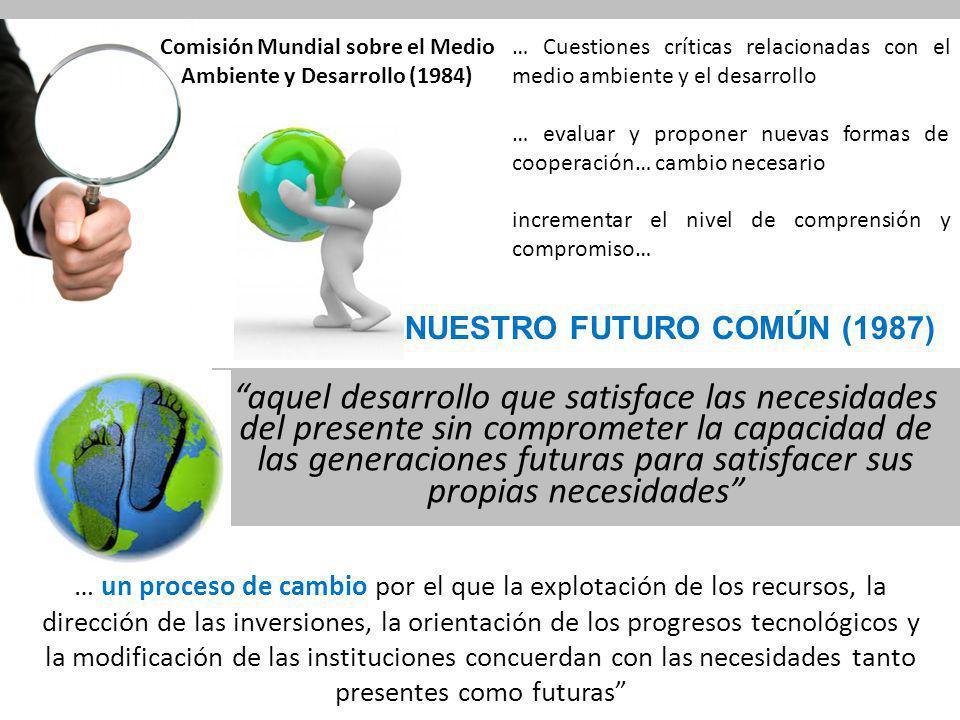CUMBRE DE RIO (1992) Programa 21 Sección I.Dimensiones sociales y económicas Sección II.