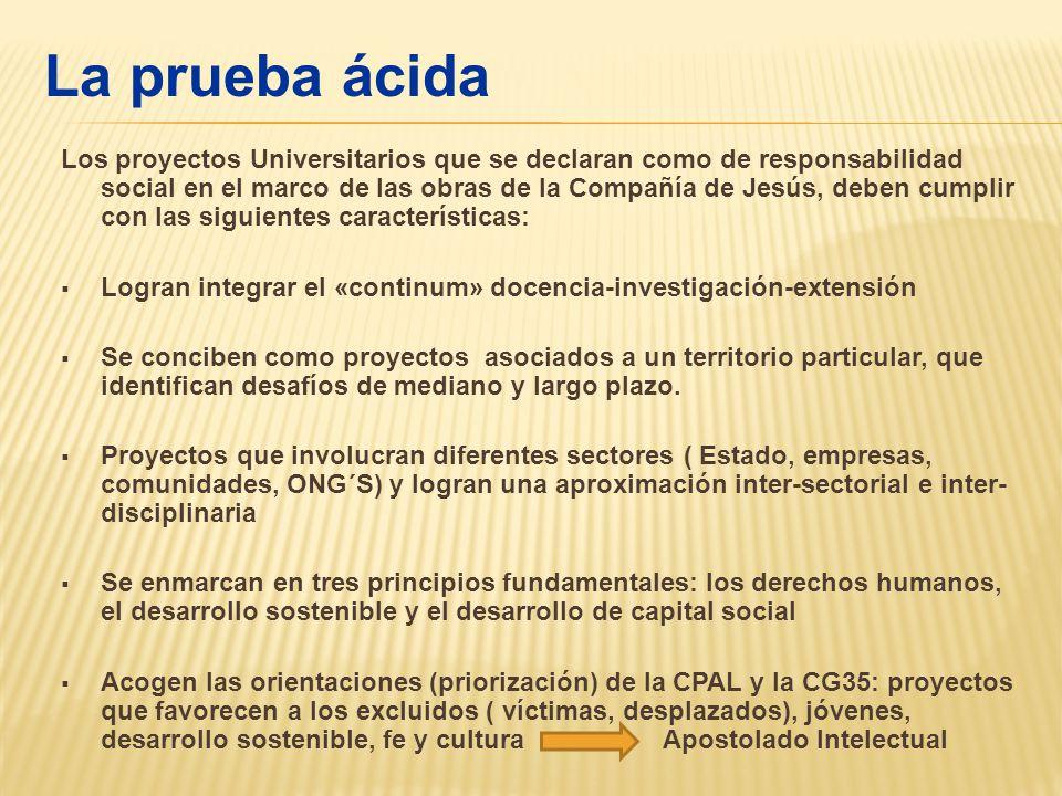 RESULTADOSMEJORAMIENTO Orientación institucional documentada, coherente con AUSJAL.